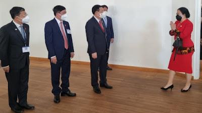 Bertemu Ketua Parlemen Austria dan Vietnam, Puan Maharani Bahas Penanganan Covid-19