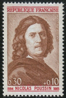France 1965 Nicolas Poussin, painter