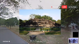 Candi bubrah, materi digitiket virtual tour