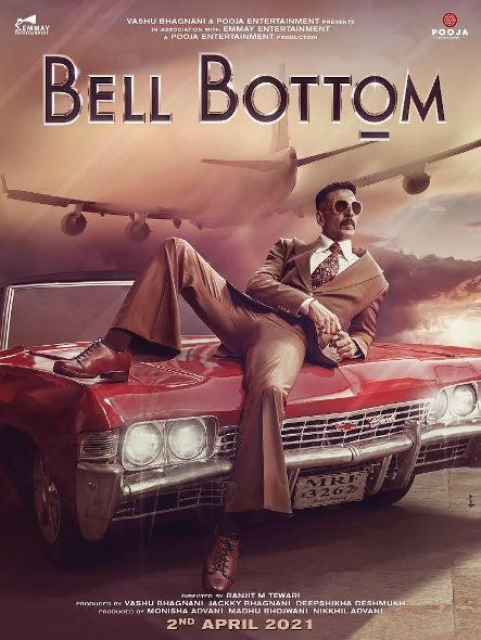 Bell Bottom new upcoming movie first look, Poster of Mrunal, Akshay next movie download first look Poster, release date
