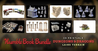 Humble Bundle D&D Terrain Supporting Direct Relief
