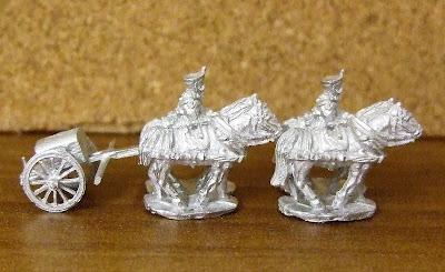 Russian 4 horse limber