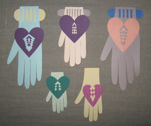 woven hearts and hands, woven hands and hearts, woven love tokens