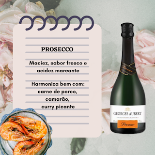 Harmonização - Prosecco