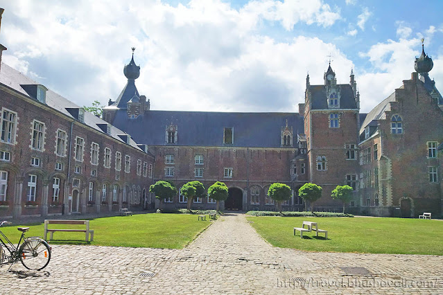 Belgium Castles Brussels Arenberg Castle Leuven