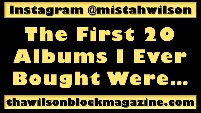 PODCAST: The First 20 Albums I Ever Bought Were... 🎵🎵🎵