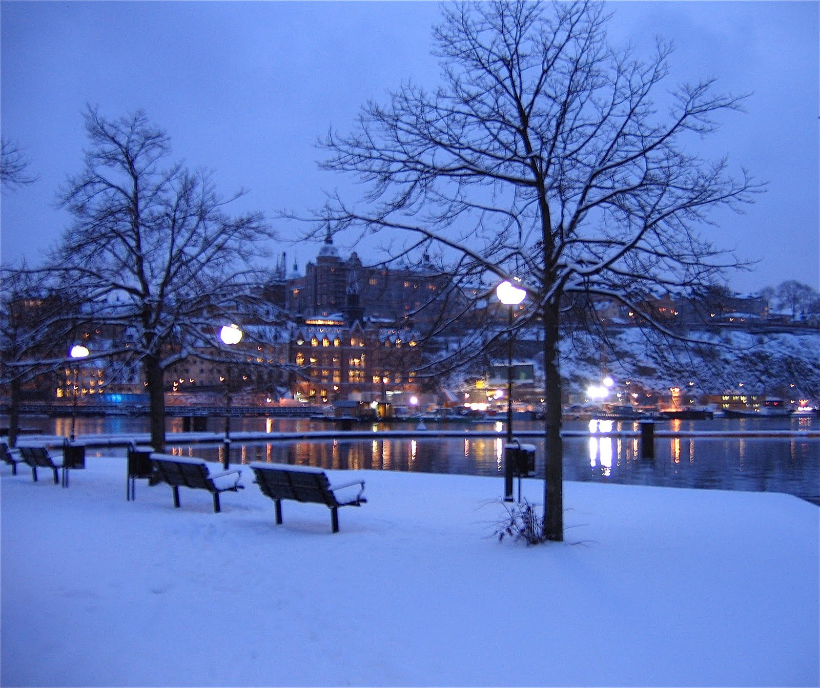 stockholm in the snow - photo #1