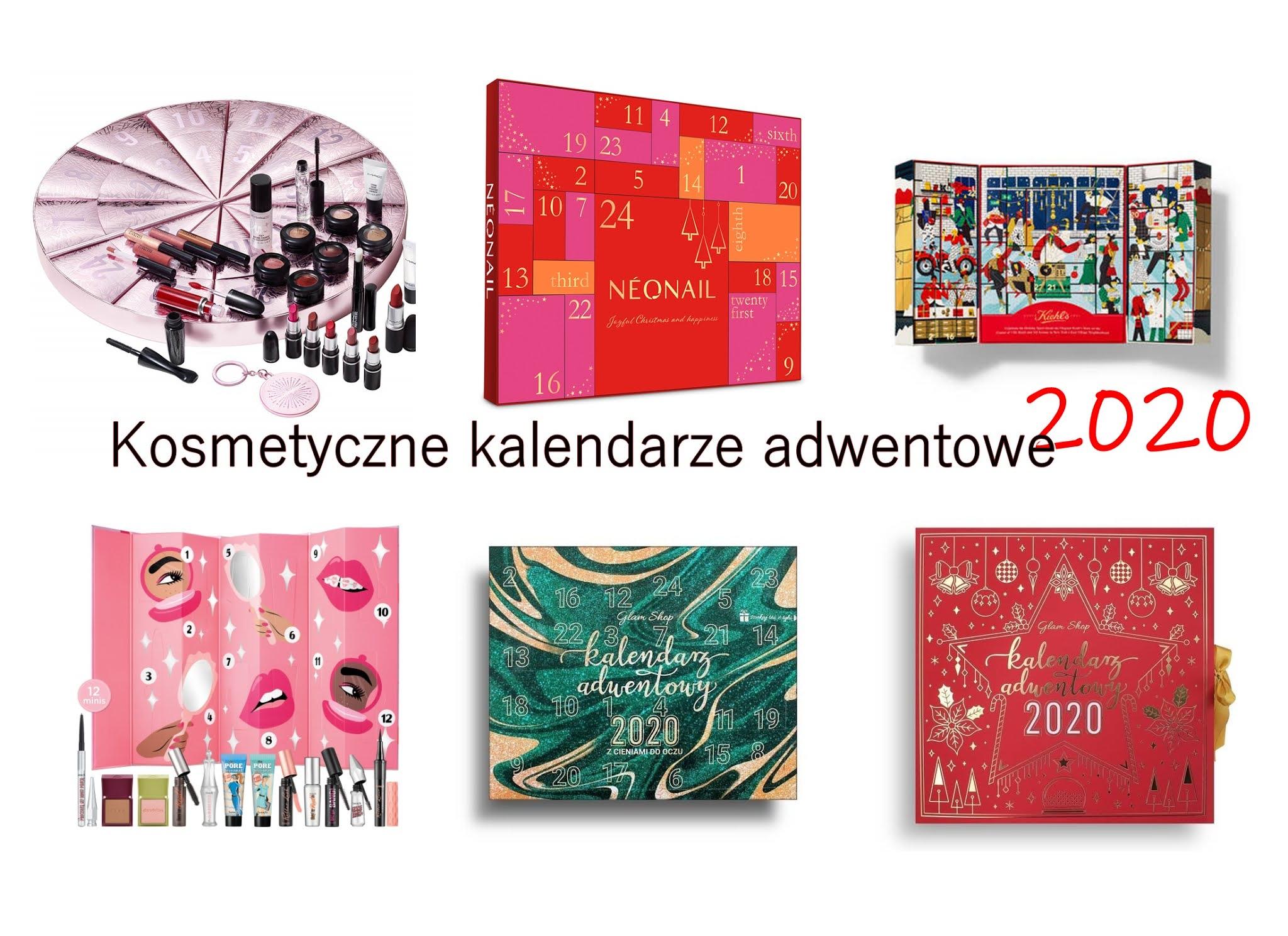 Kosmetyczne kalendarze adwentowe 2020