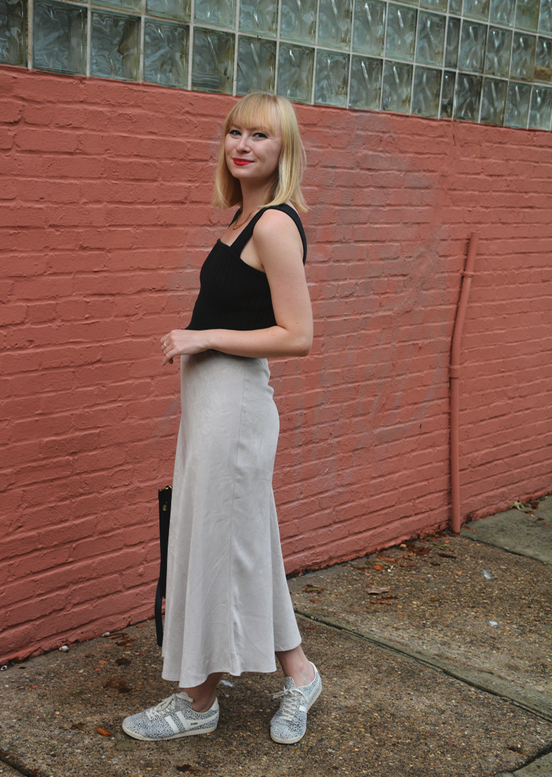 Silk Midi Skirts | Organized Mess