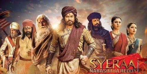 Sye Raa Narasimha Reddy full movie download | watch online leaked by Tamilrockers & Movierulz