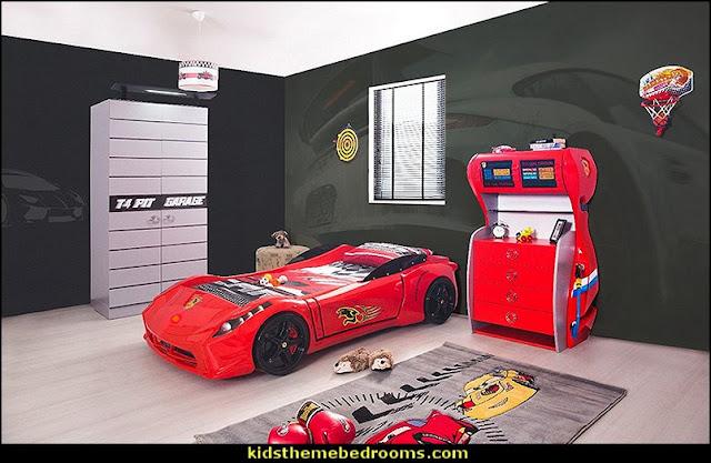 Ferrari 458 Italia Style Spider Racing Car Bed