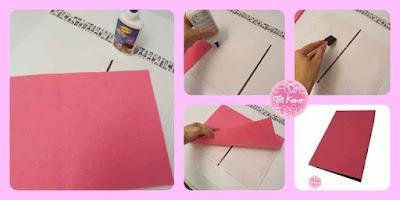 manualidades con niños con carton y fieltro