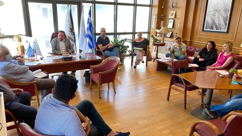 Επίσπευση εργασιών για την εξέλιξη του έργου κατασκευής δικτύου ακαθάρτων στη Μάκρη του Δήμου Αλεξανδρούπολης