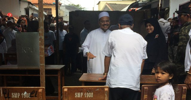 NGAKAK! Tak Percaya Ahok Menang di TPS Habib Rizieq, Ketua KPPS Sampai Diminta Hitung 5 Kali