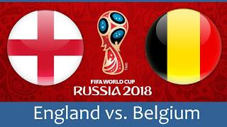 انتهت مباراه انجلترا وبلجيكا اليوم 28-6-2018 بنتيجه 1 - 0 لصالح بلجيكا