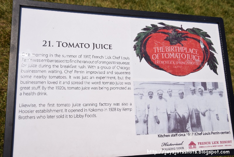 French lick tomato juice
