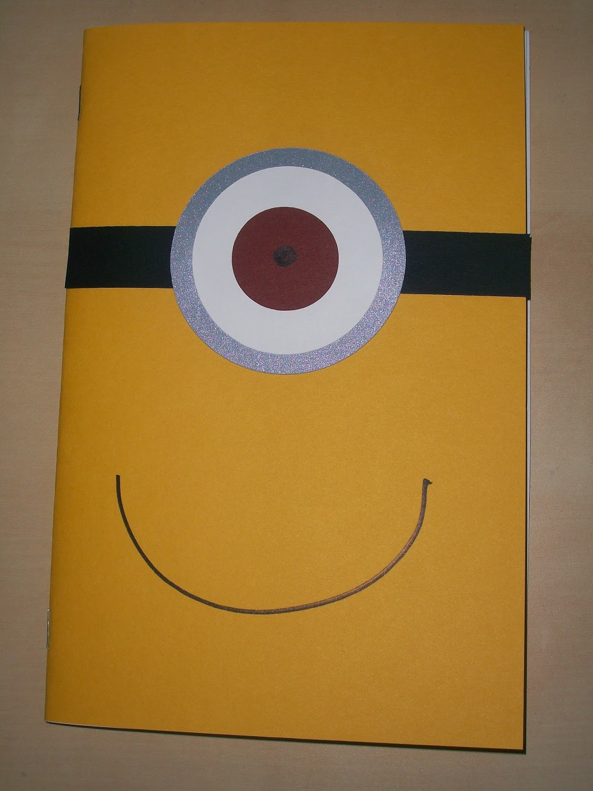 DIY Despicable Me Minion coloring book