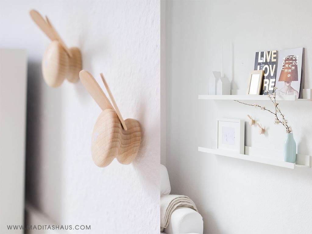 diy hasen wandhaken m belkn pfe aus holz maditas haus lifestyle und interior blog. Black Bedroom Furniture Sets. Home Design Ideas