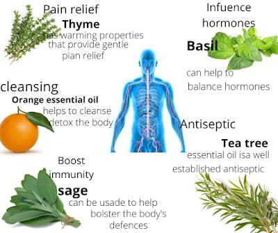 essential oils for body