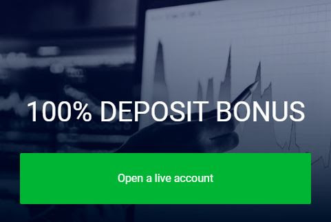Bonus Deposit AMEGA 100%