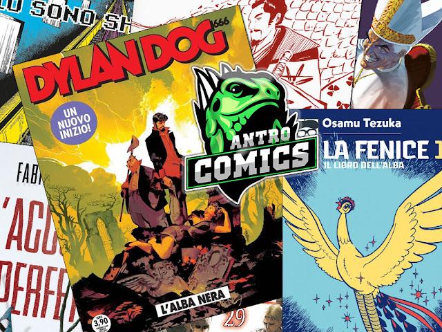 Il nuovo Dylan Dog, la Fenice di Tezuka, Don Zauker, i manga bizzarri