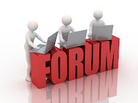 Participe de fóruns