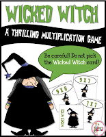 Wicked Witch Free Multiplication Game