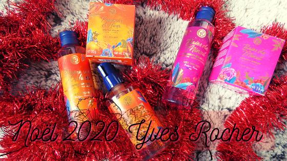 Collection de Noël 2020 Yves Rocher