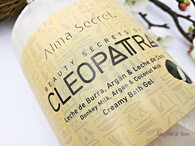 alma secret gel cleopatra cosmetica natural bodycare corporal beauty belleza