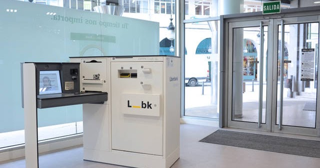 Nuevos modelos de oficinas y cajeros solo en liberbank for Oficinas y cajeros