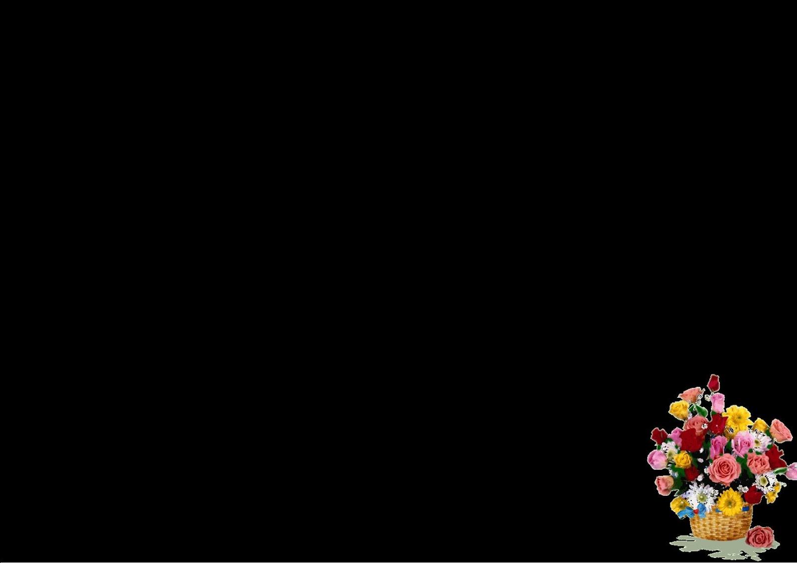 GadeuAlQuran Background Presentasi Bunga
