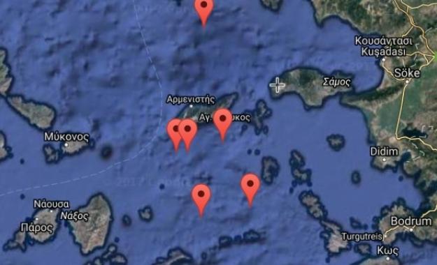 Το παρατραβάει η Άγκυρα, με άσκηση στον βυθό της Ικαρίας και «παρεμβολή» σε άσκηση της Frontex