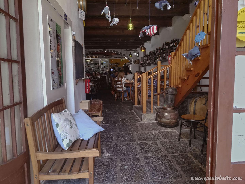 Interior do Restaurante  A Tasca