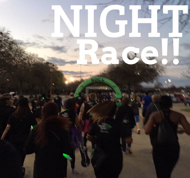 night racing running road safety tips injury prevention