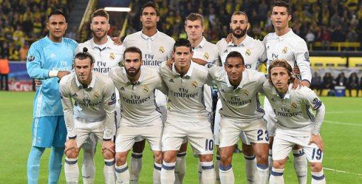 Skuad Real Madrid Liga Spanyol Musim 2017/2018
