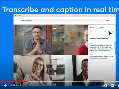 A New Chrome Extension to Transcribe and Caption Google Meet Calls in Real Time