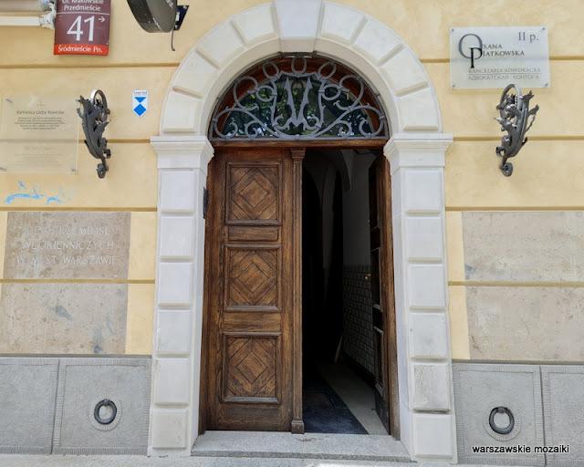 Warszawa Warsaw kamienica kamienice Śródmieście Cech Krawców architektura architecture warsaw street