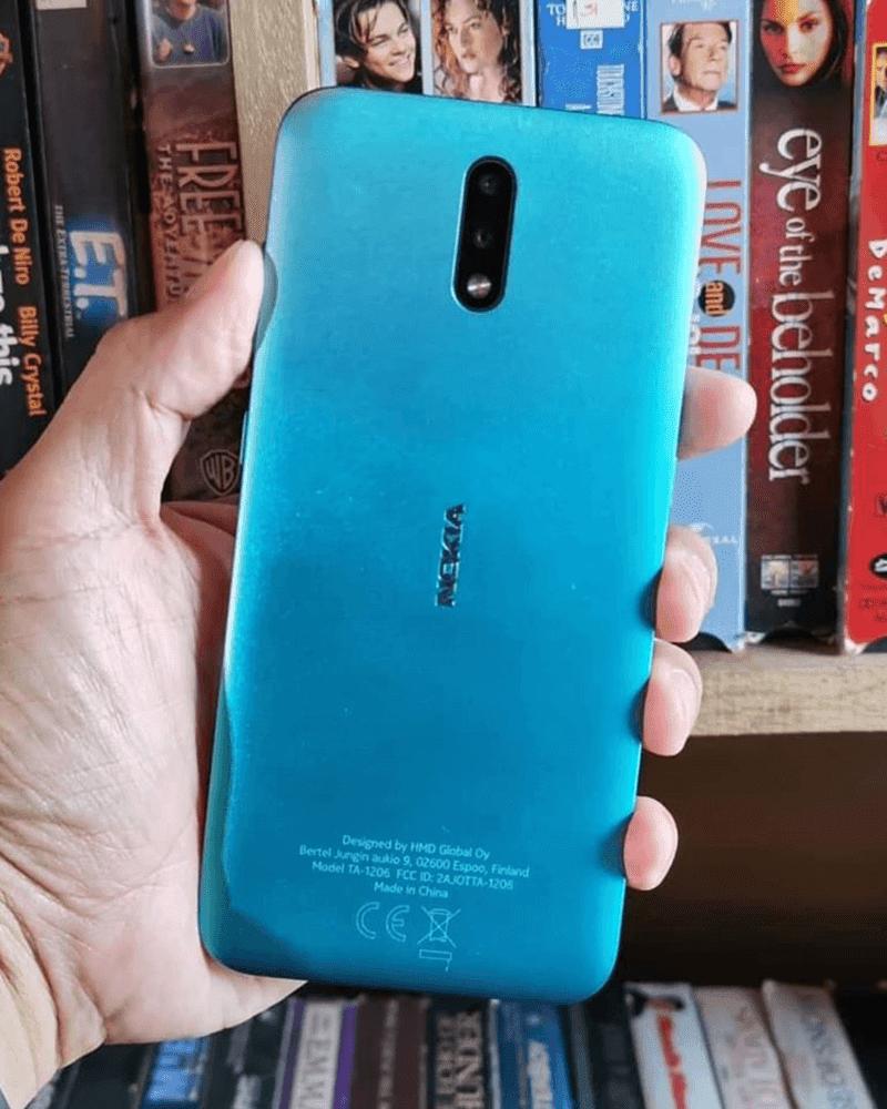 Cyan Green Nokia 2.3