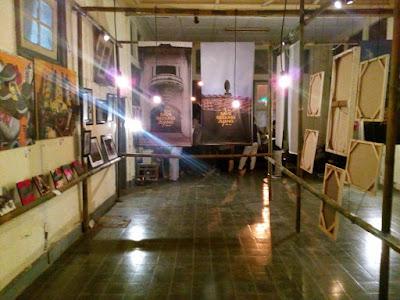 Galeri seni Gedung Juang 45 Tambun Bekasi