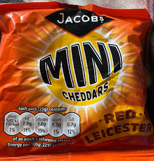 Mini Cheddars Red Leicester
