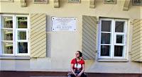 """W domu tym XII-1822 mieszkał Adam Mickiewicz. Tu był redagowany poemat Grażyna"""""""