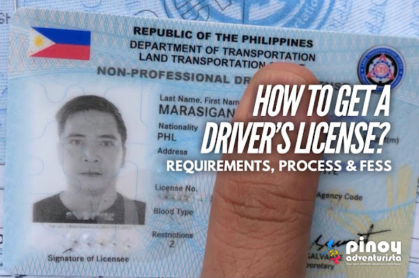 How to get a Non Professional Drivers License LTO Philippines Requirements Fees Process