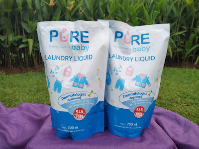 Purebaby laundry liquid