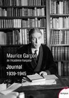 maurice garcon journal 1939 1945 perrin tempus belles lettres