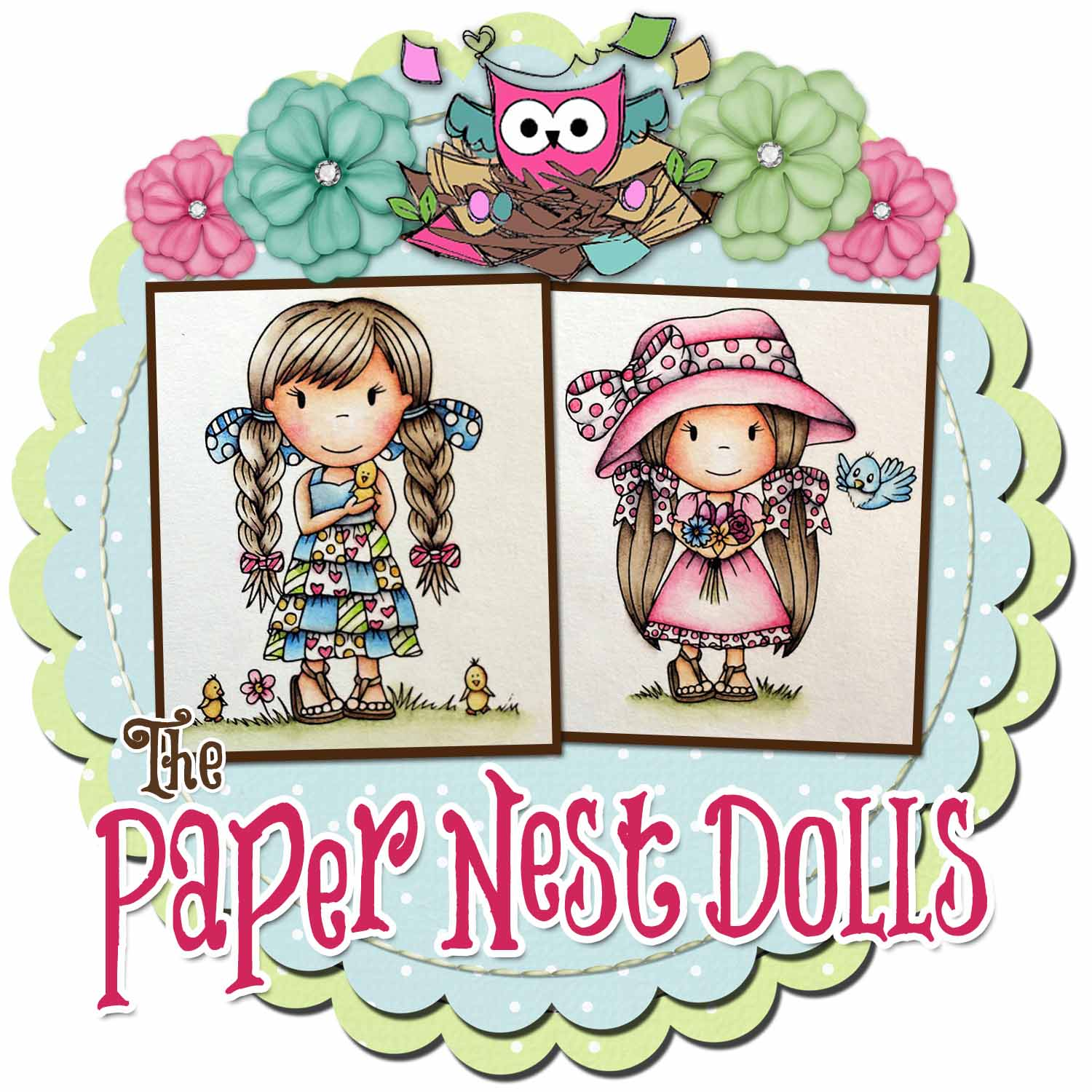 The Paper Nest Dolls Challenges