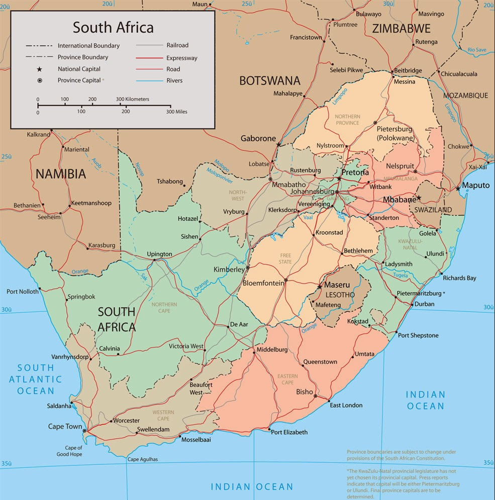 South African Native Plants: Map Of South Africa Pictures