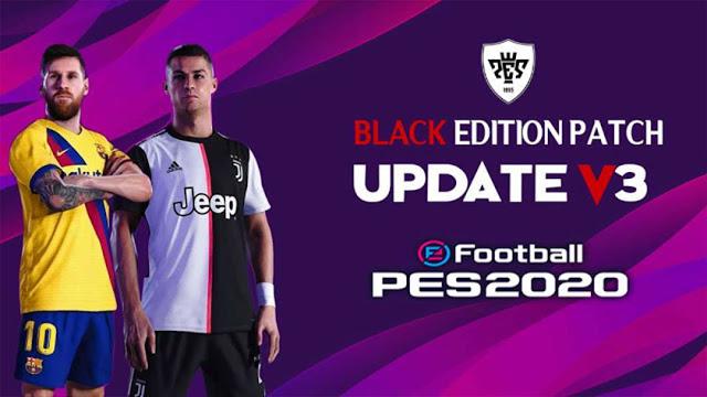 ultigamerz: PES 2017 Black Edition Patch Update v3