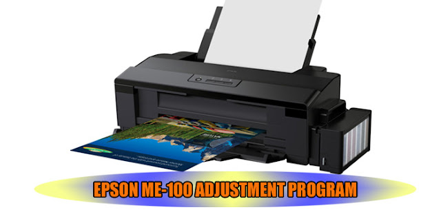 EPSON ME-100 PRINTER ADJUSTMENT PROGRAM