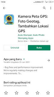 Cara untuk setting kamera peta GPS ( GPS Map Camera ) menjadi format DMS