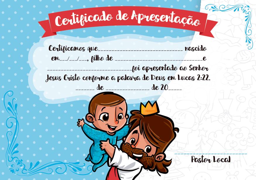 Mensagem De Apresentação De Bebe Na Igreja: Blog Da Tia Jaque: Certidão Para Apresentação De Crianças